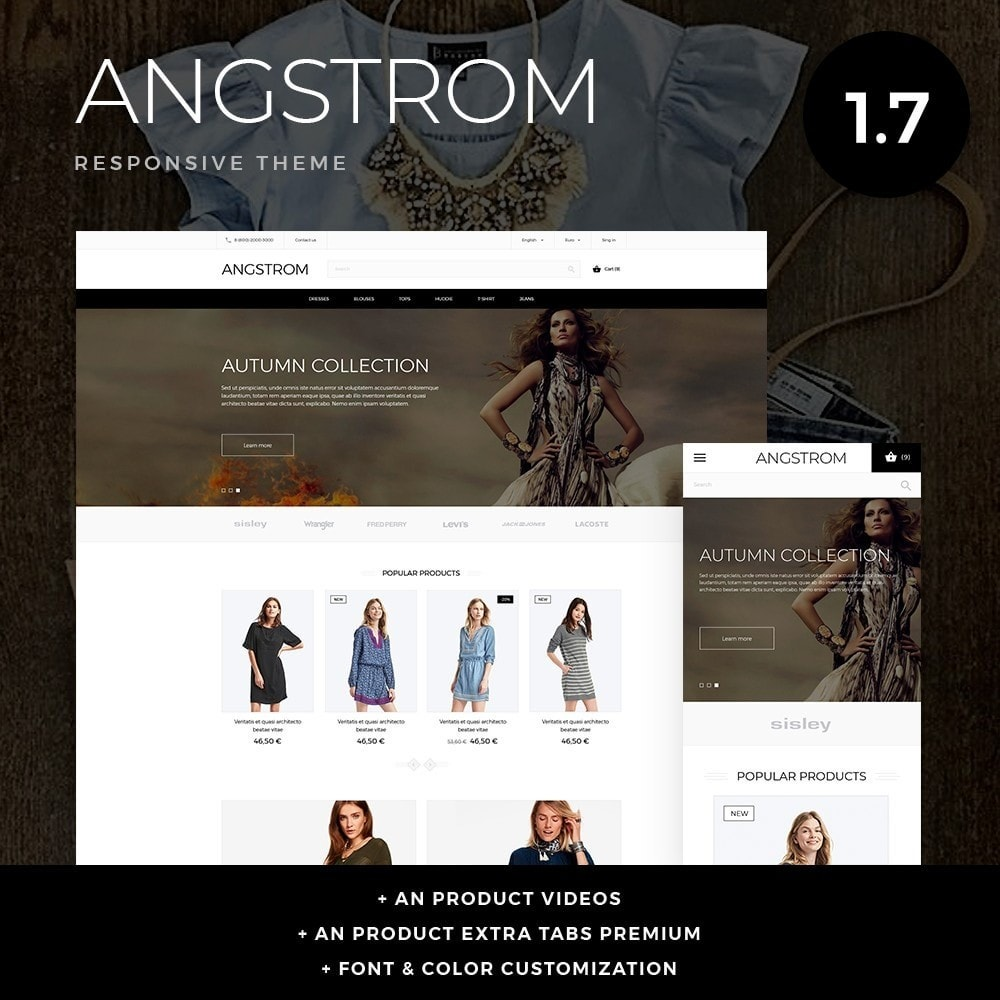 Angstrom Fashion Store