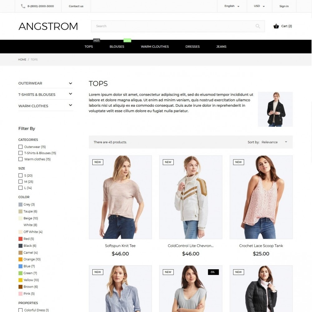 theme - Mode & Schuhe - Angstrom Fashion Store - 6