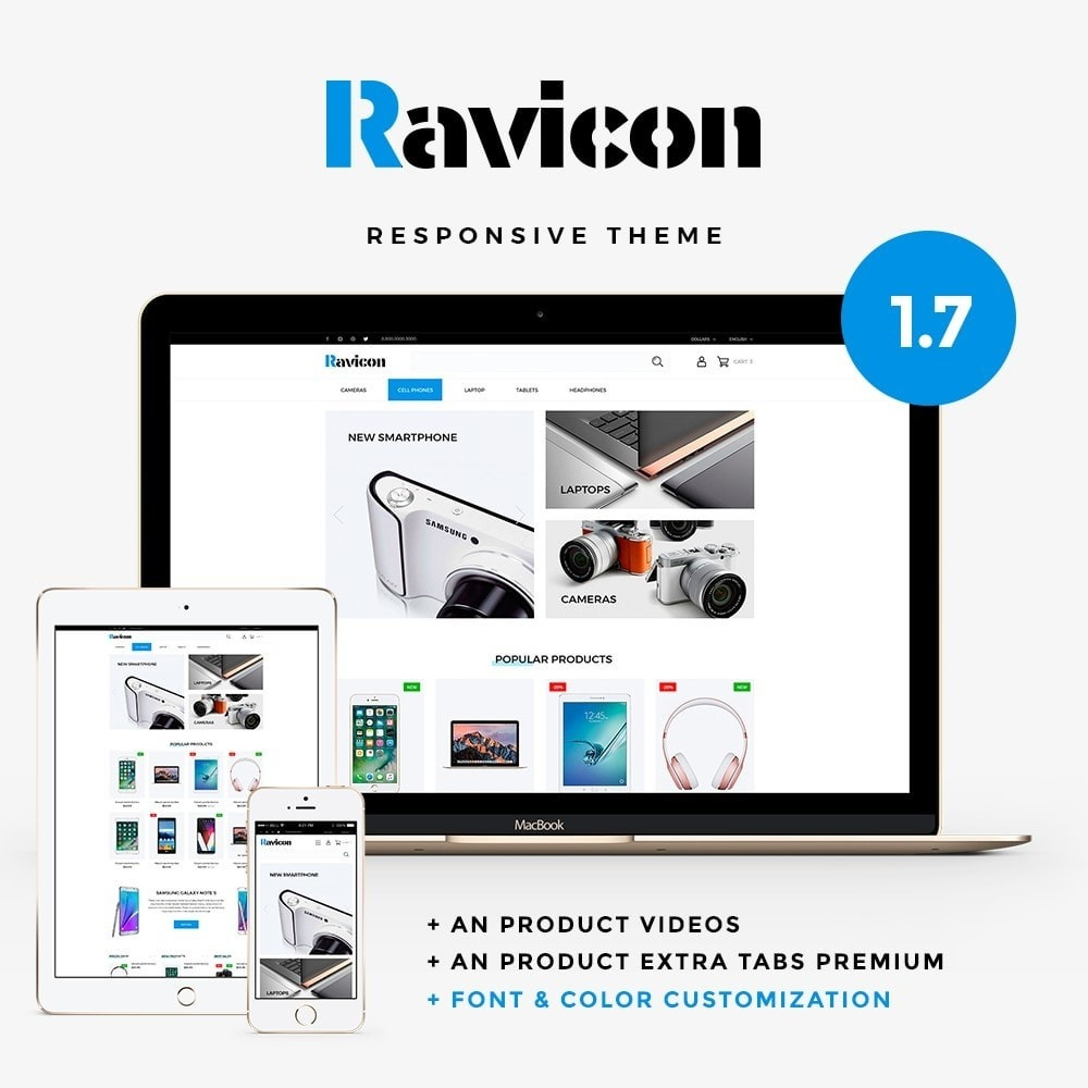 Ravicon - High-tech Shop