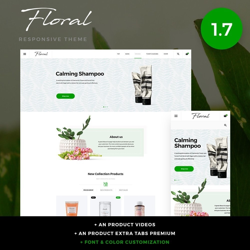 Floral Cosmetics