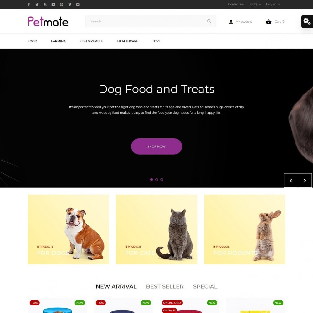 theme - Animals & Pets - Petmate - 2