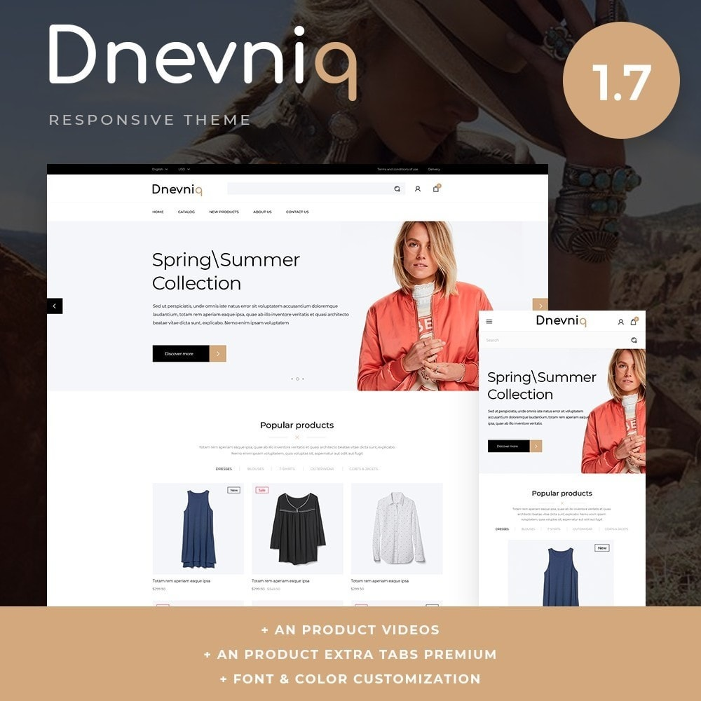 theme - Mode & Schuhe - Dnevniq Fashion Store - 1