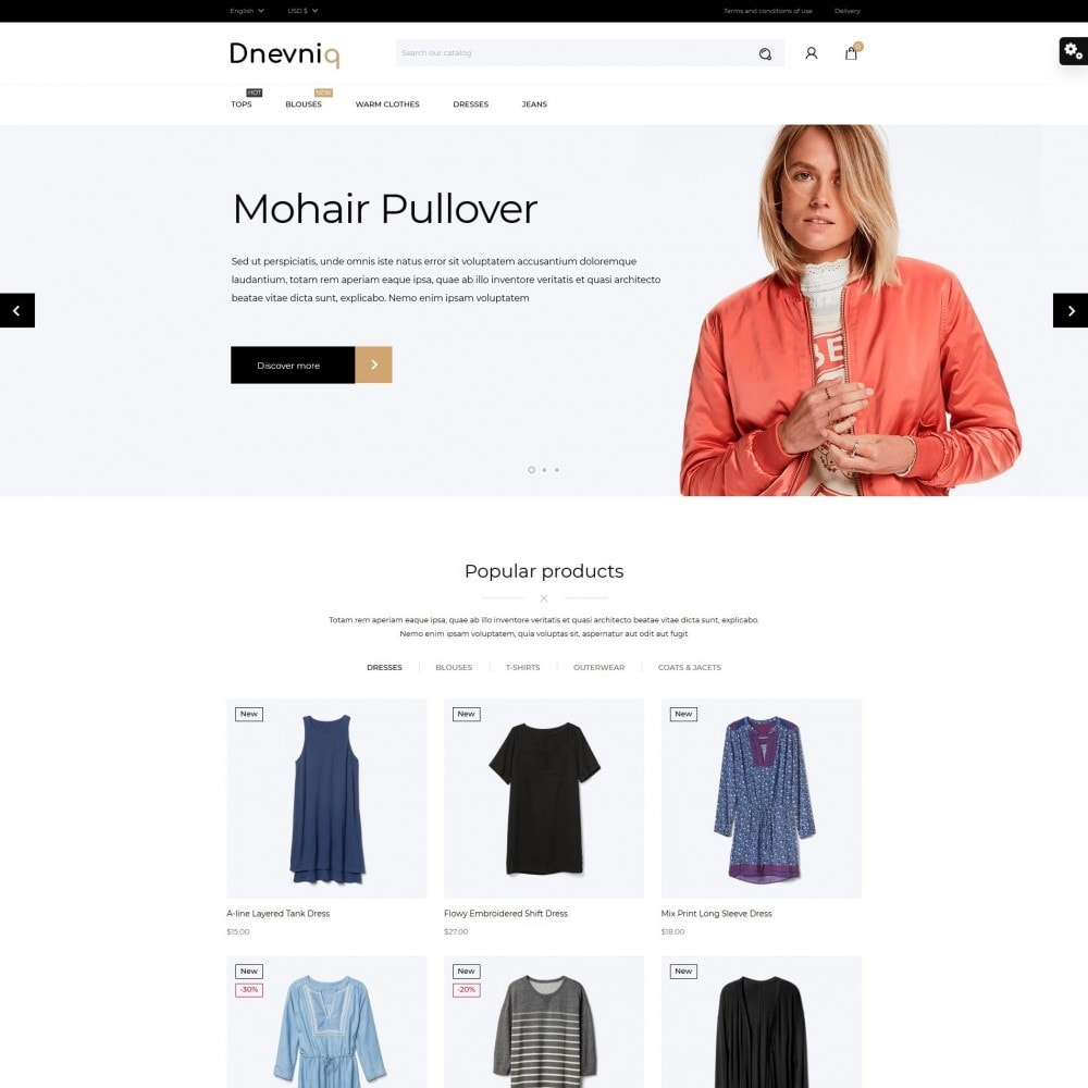 theme - Mode & Schoenen - Dnevniq Fashion Store - 2