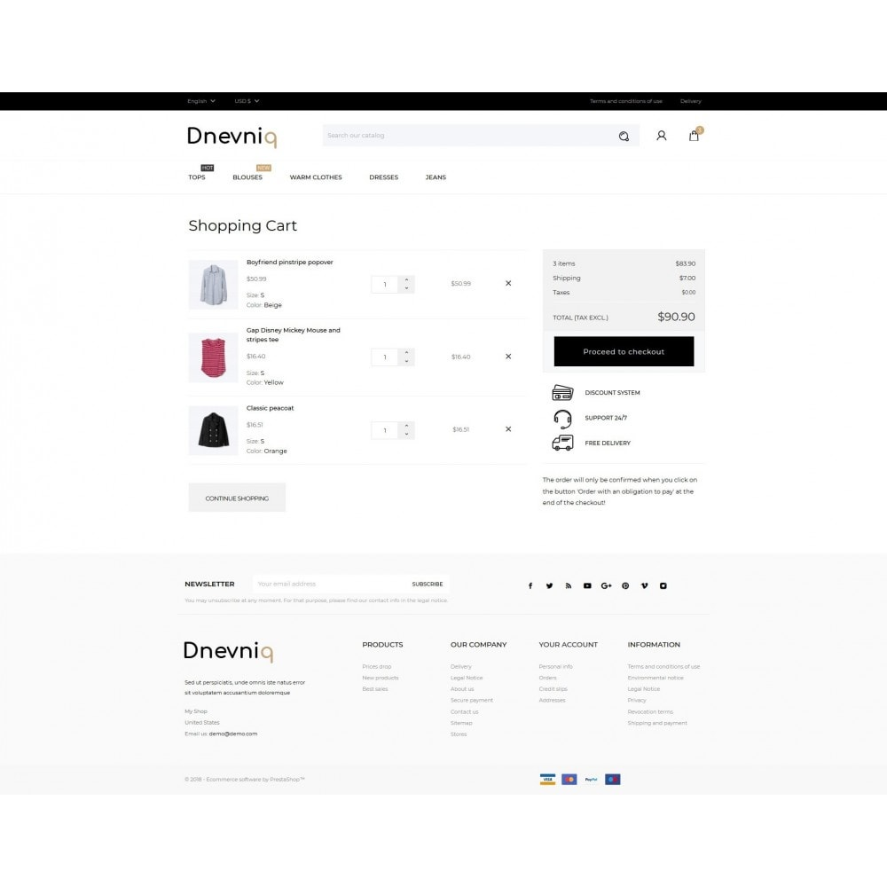theme - Mode & Schoenen - Dnevniq Fashion Store - 9