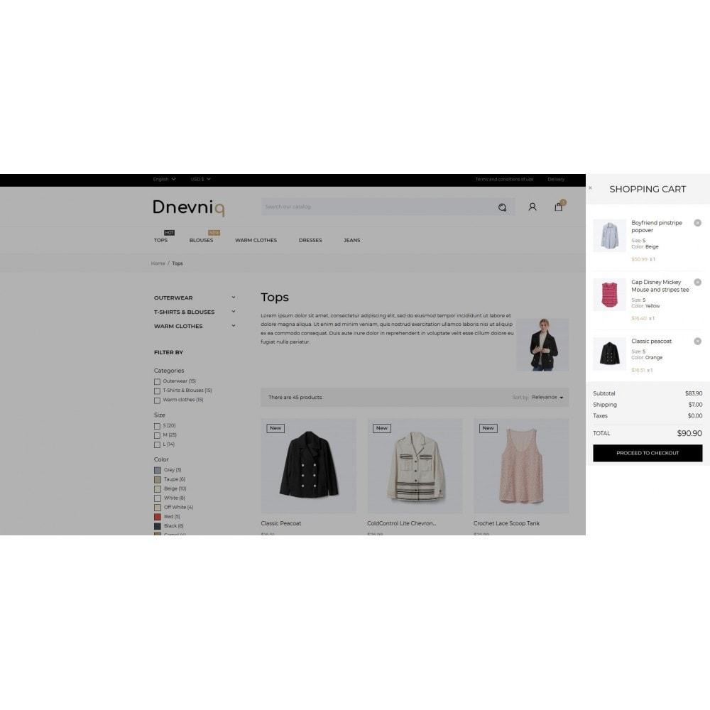 theme - Mode & Schoenen - Dnevniq Fashion Store - 11