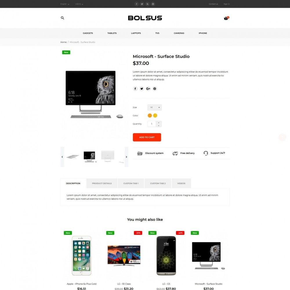 theme - Electrónica e High Tech - Bolsus - High-tech Shop - 7