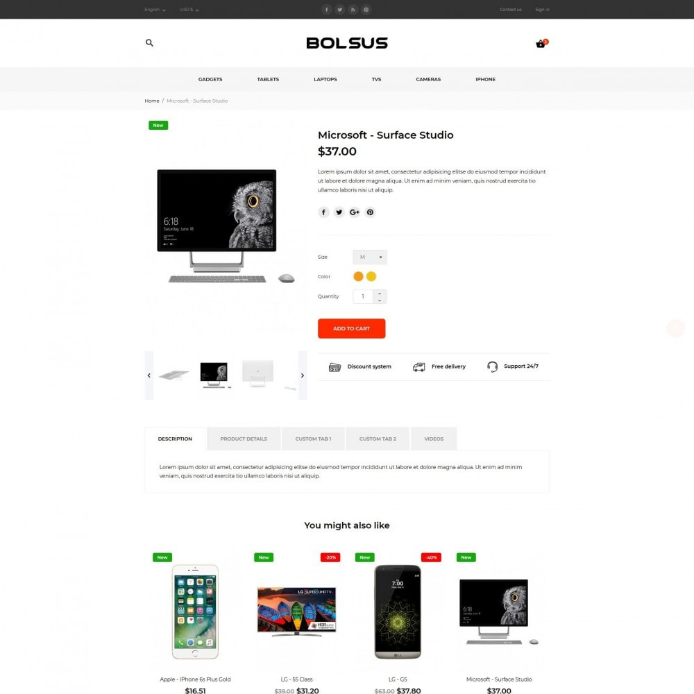 theme - Eletrônicos & High Tech - Bolsus - High-tech Shop - 7