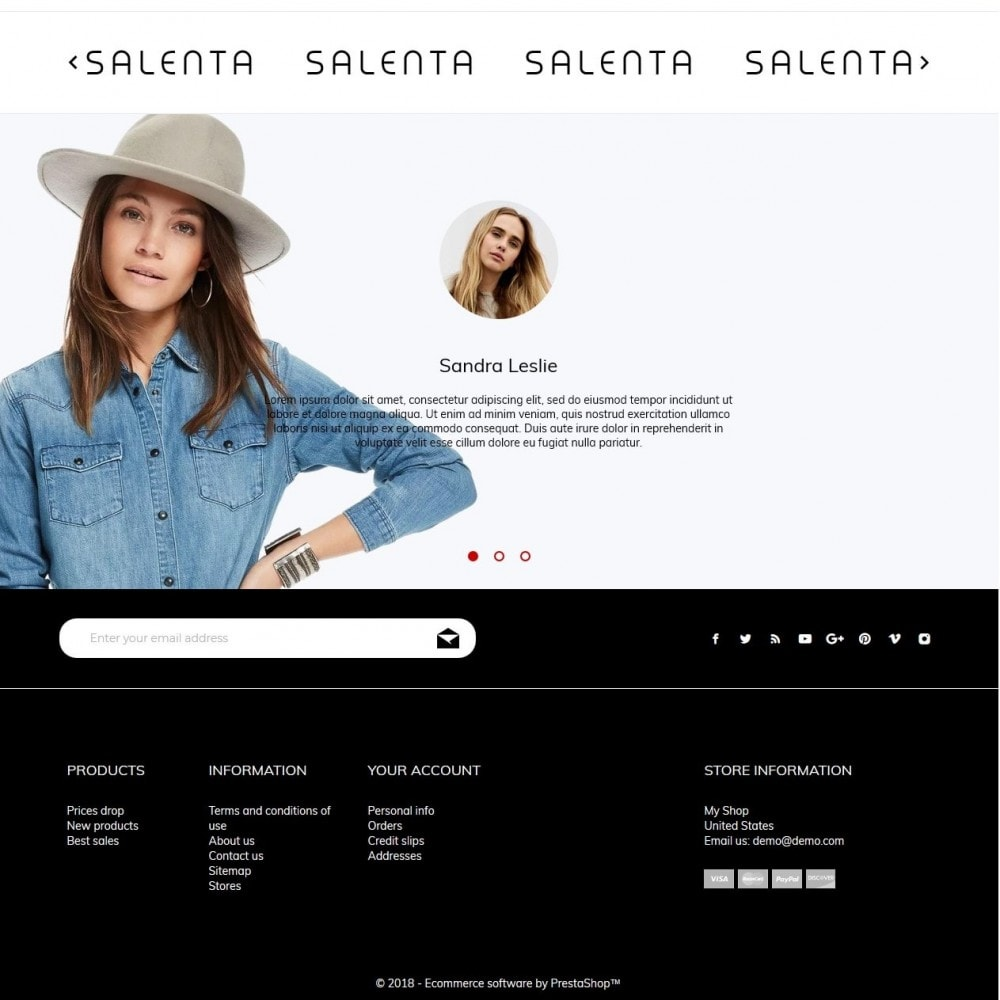 theme - Fashion & Shoes - Salenta Fashion Store - 4
