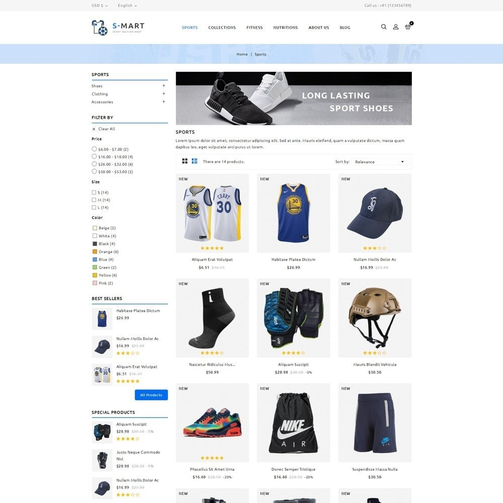 theme - Moda & Obuwie - Shop Mart Sports Fashion - 3
