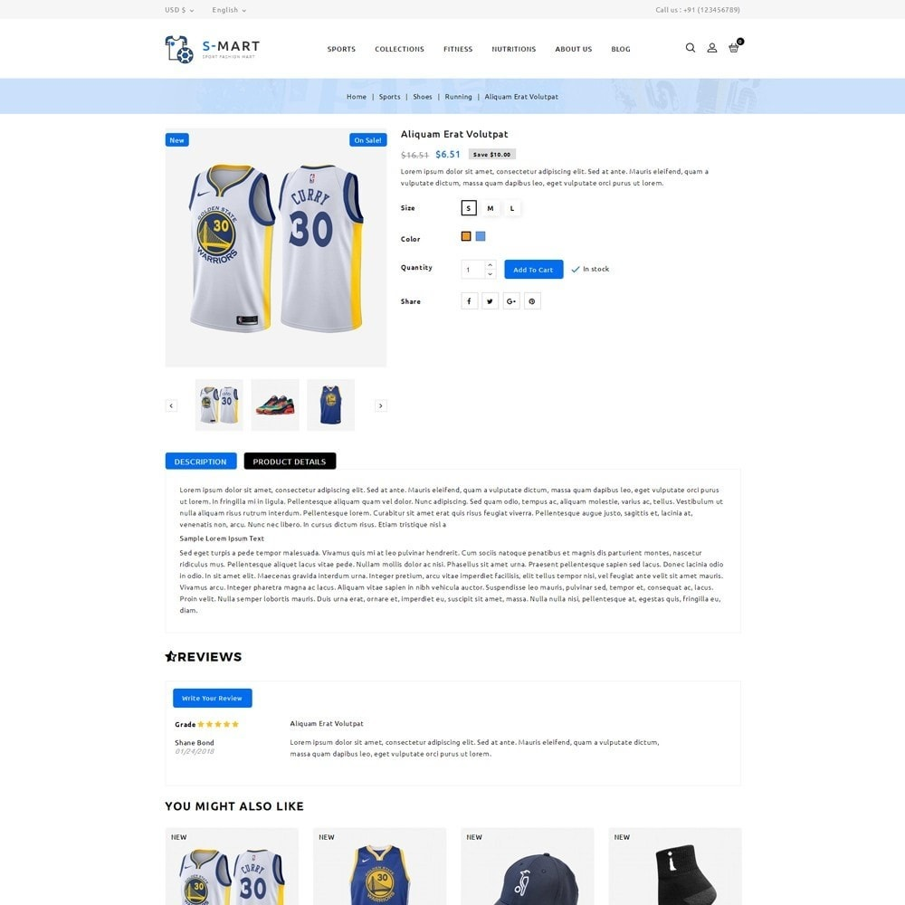 theme - Moda & Obuwie - Shop Mart Sports Fashion - 5