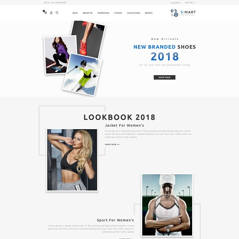 theme - Мода и обувь - Shop Mart Sports Fashion - 10