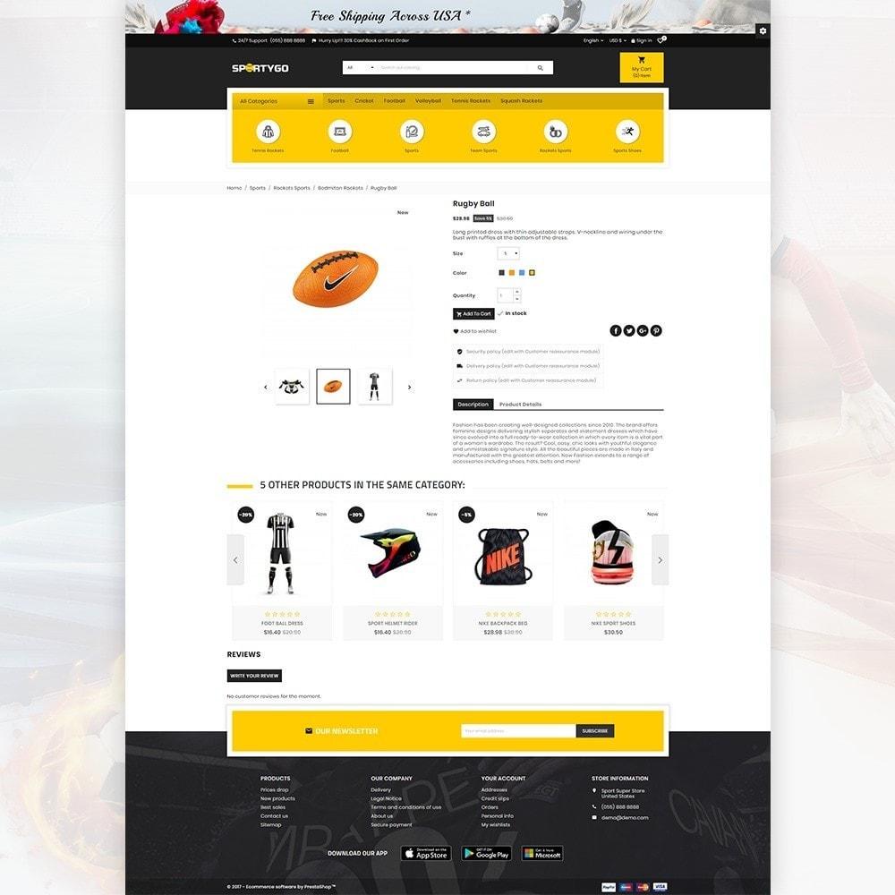theme - Sport, Activiteiten & Reizen - SportyGo– Sport Super Store - 4