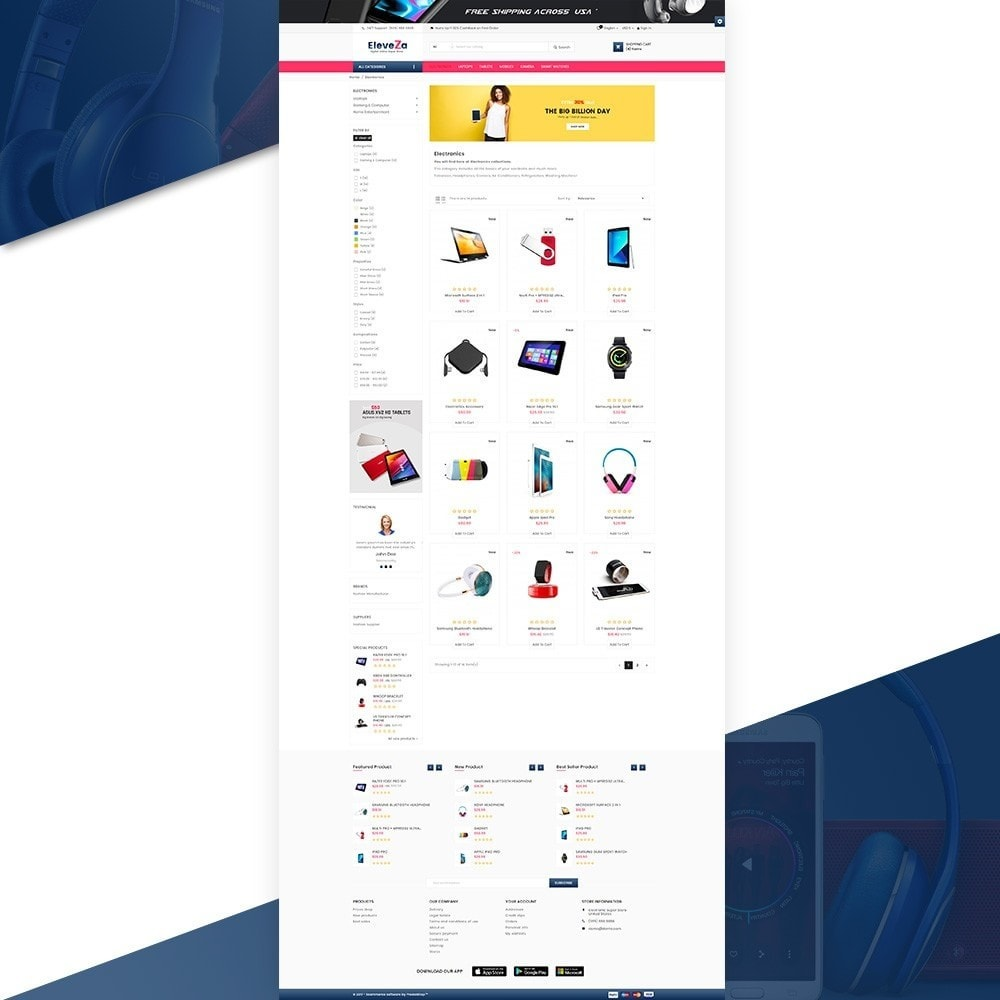 eleveza– Electronices Super Store v2