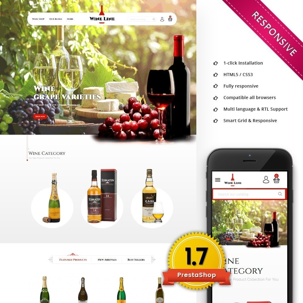 Wineline - Alcohol Shop