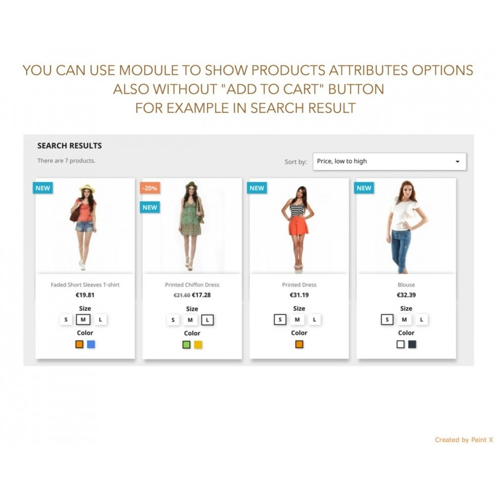 module - Combinations & Product Customization - Show Combinations Or Product Attributes In Product List - 7
