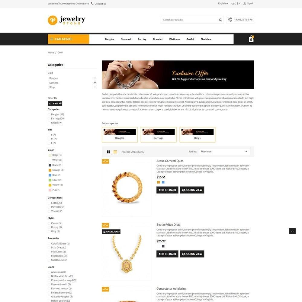 theme - Bellezza & Gioielli - Jewelrystone - Jewelry Online Store - 4