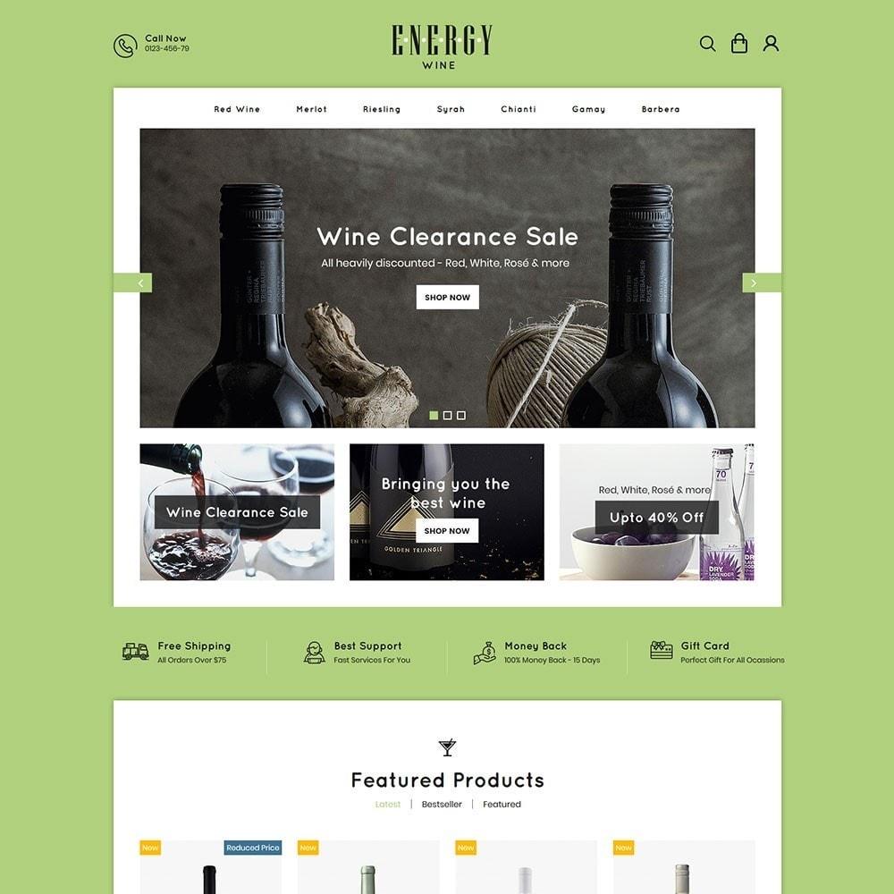 Energywine - Wine Online Store