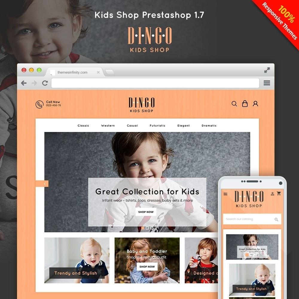 theme - Kids & Toys - Dingo - Kidswear Online Store - 1