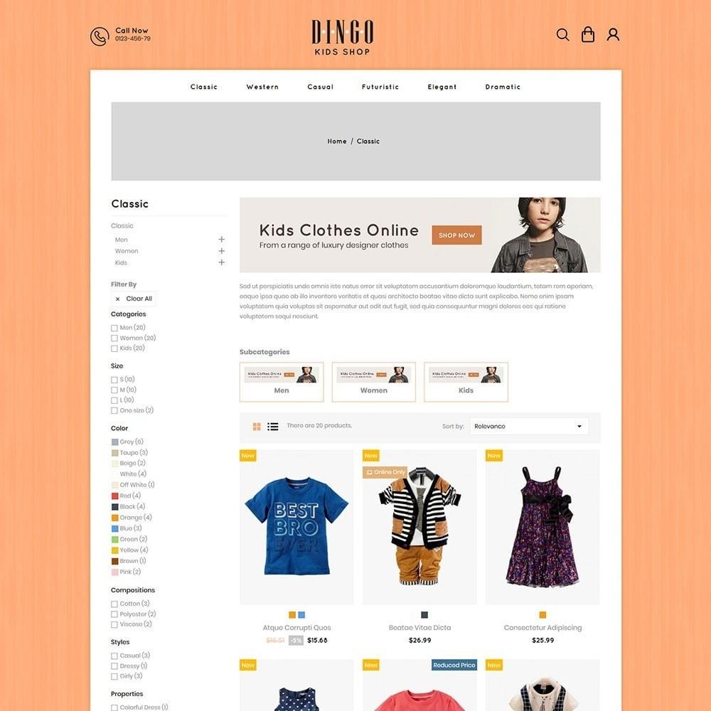 theme - Crianças & Brinquedos - Dingo - Kidswear Online Store - 3