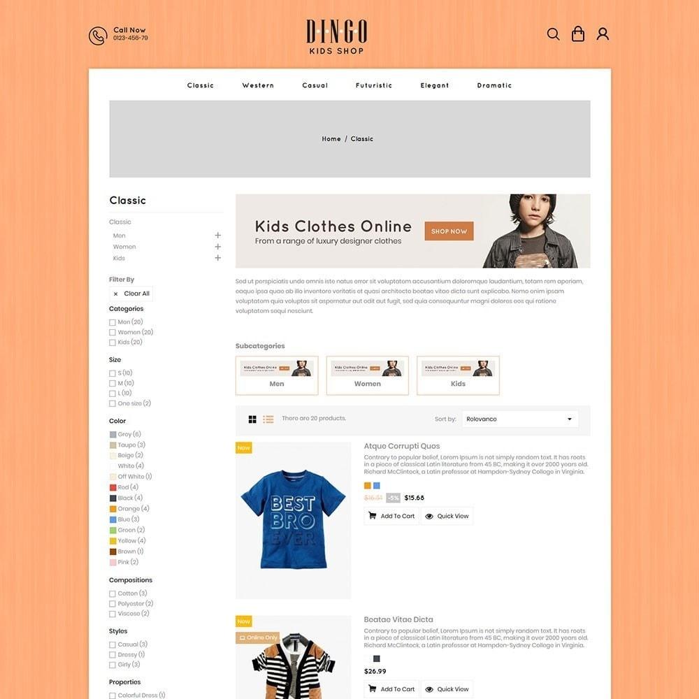 theme - Crianças & Brinquedos - Dingo - Kidswear Online Store - 4