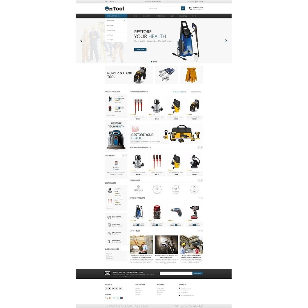 theme - Coches y Motos - OnTool Store - 2