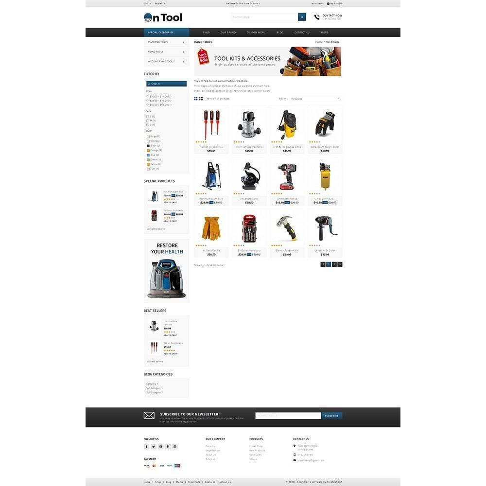 theme - Samochody - OnTool Store - 3