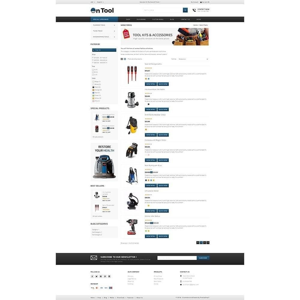 theme - Samochody - OnTool Store - 4
