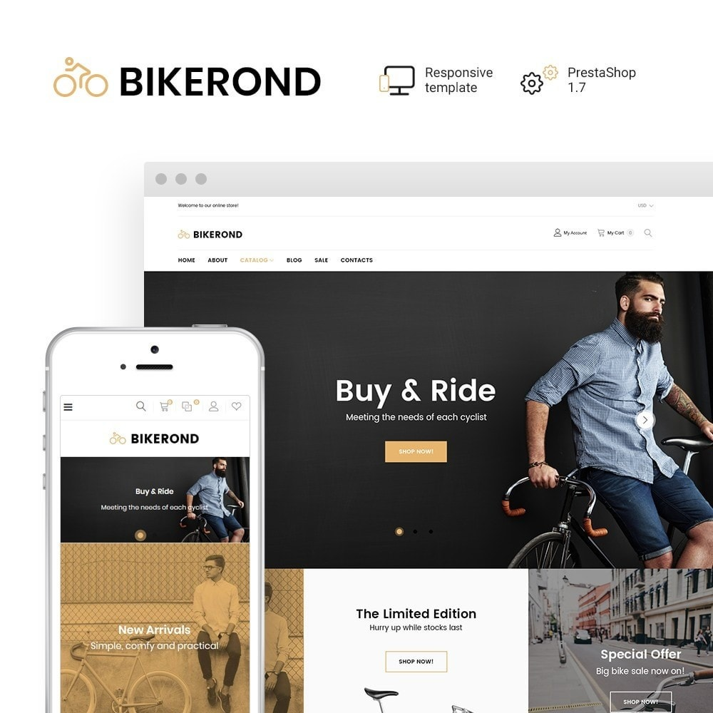 BikeRond - Bike Shop