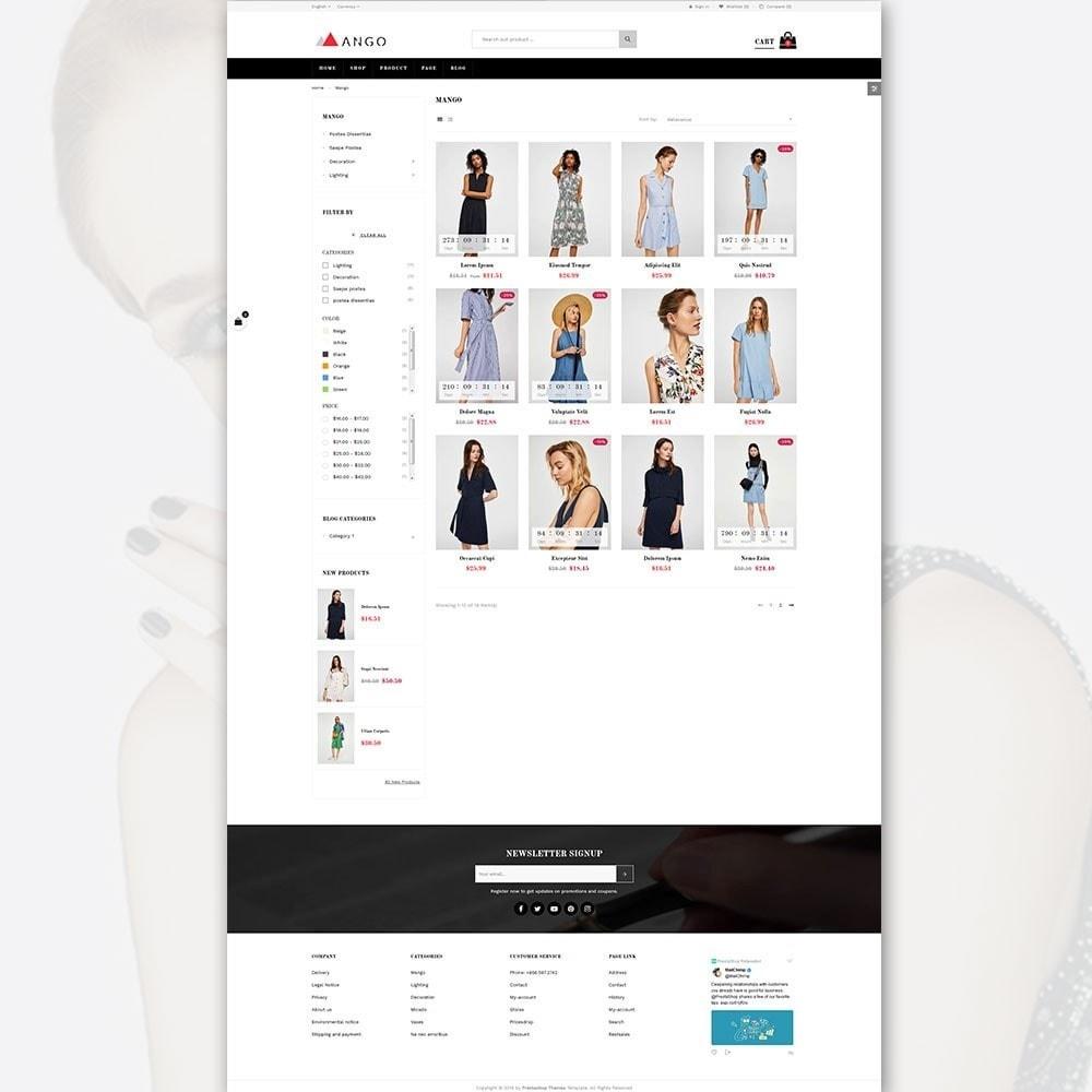 Mango - Portfolio for Fashion