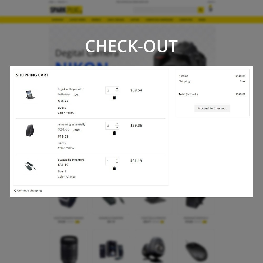 theme - Elettronica & High Tech - Sparkplug - Electronic Store - 12