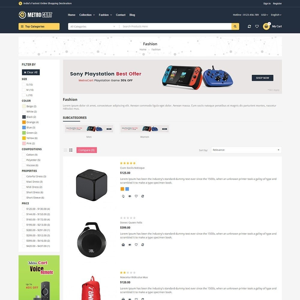 theme - Elettronica & High Tech - Metro Digital Store - 4