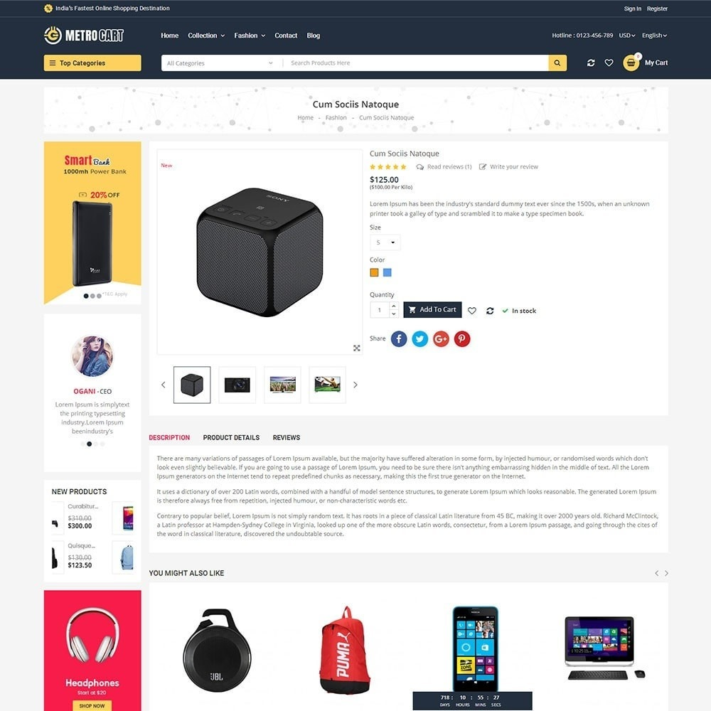 theme - Elettronica & High Tech - Metro Digital Store - 5