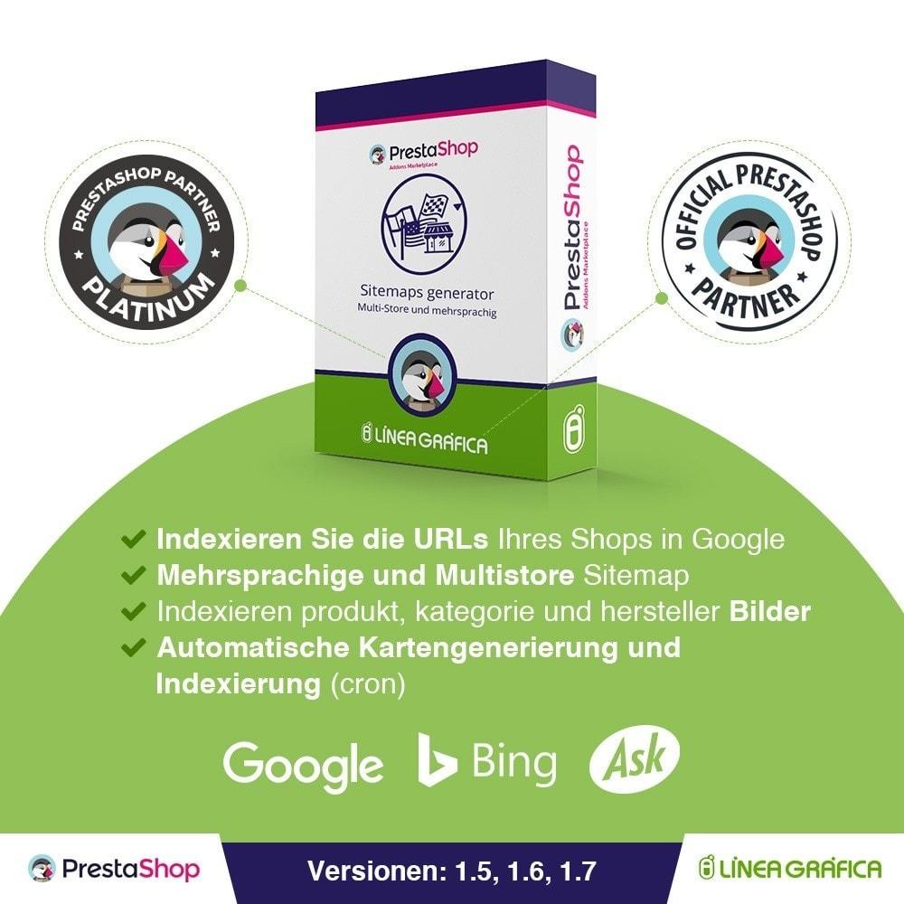 module - SEO - Multisprach und Multishop Sitemap Pro - SEO - 1