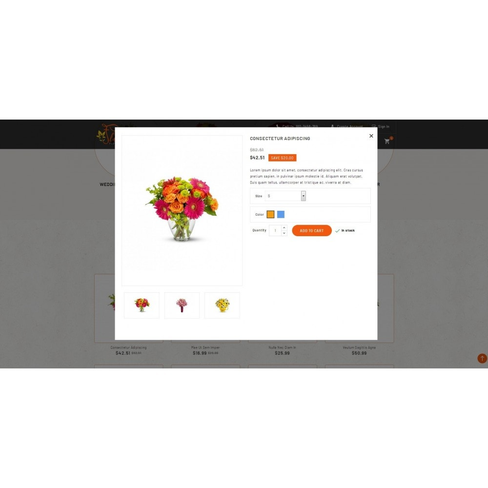 theme - Gifts, Flowers & Celebrations - Flora - Flower Store - 7