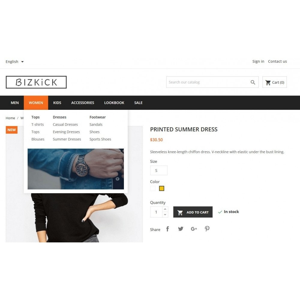 BizKick – Fashion Store