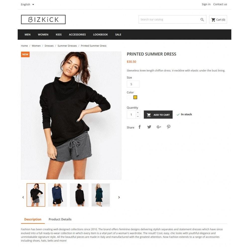 BizKick – Fashion Store