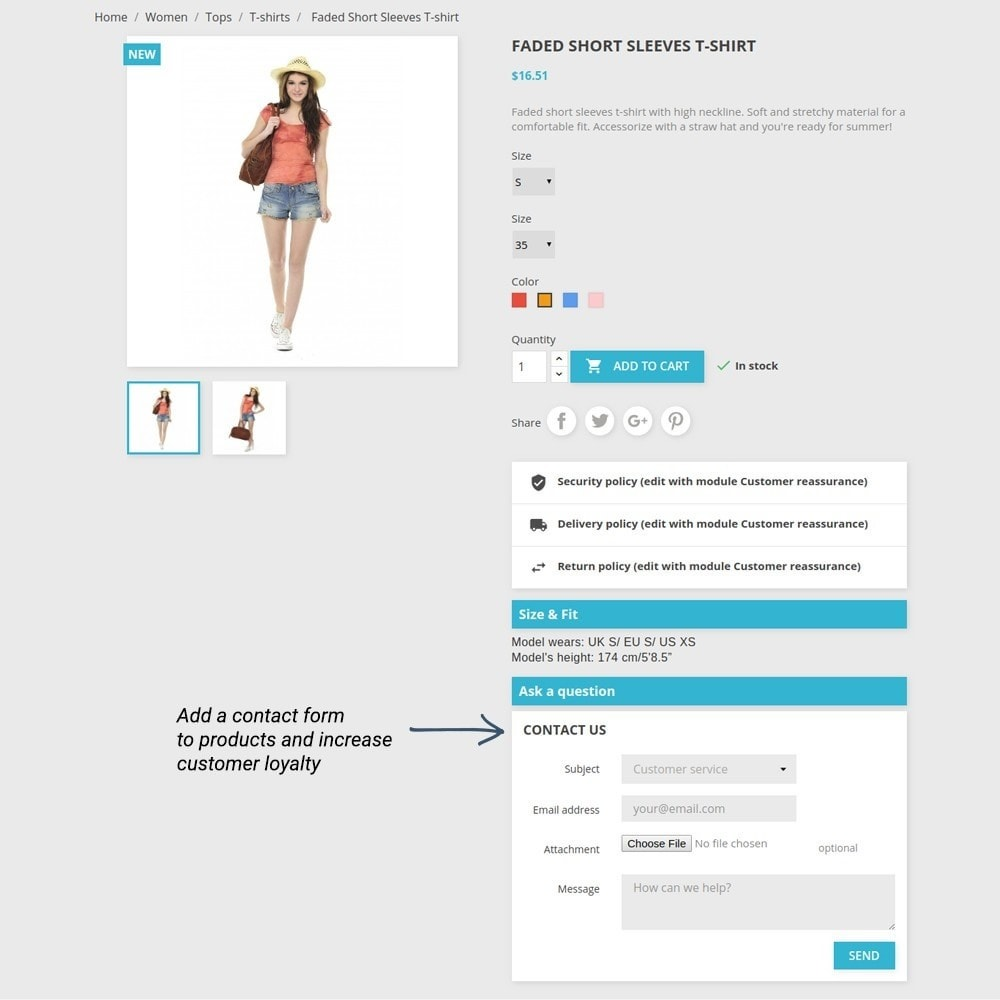 module - Additional Information & Product Tab - Product Tabs - 7