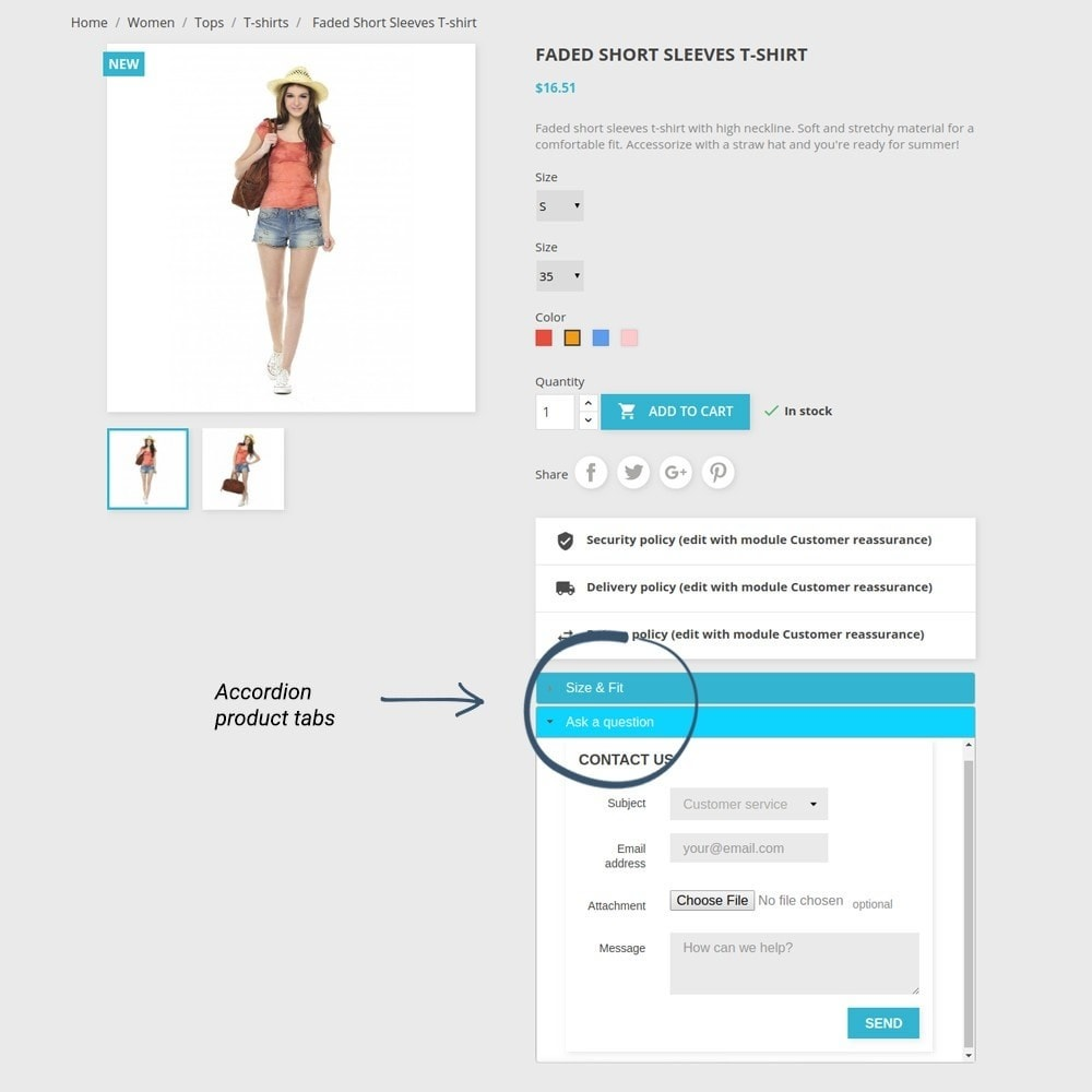 module - Additional Information & Product Tab - Product Tabs - 14