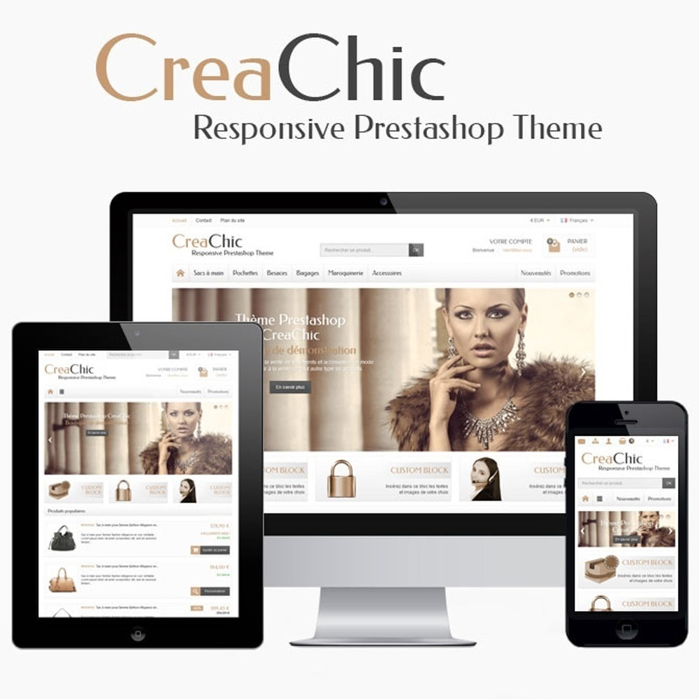 theme - Fashion & Shoes - CreaChic - 1