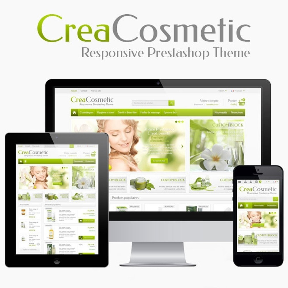 theme - Salute & Bellezza - CreaCosmetic - 1