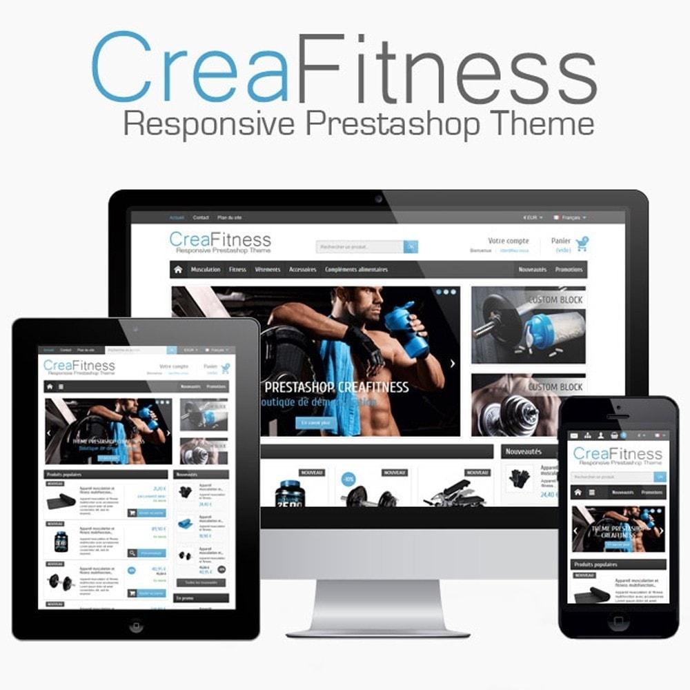 theme - Sports, Activities & Travel - CreaFitness - 1