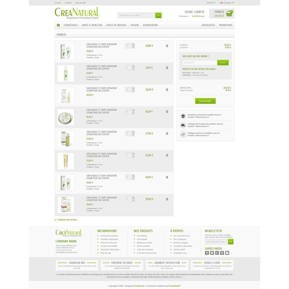 theme - Gezondheid & Schoonheid - CreaNatural - 5