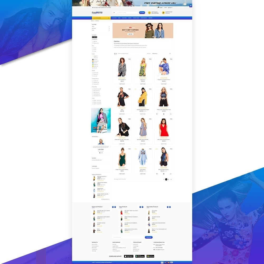 FasHene – Fashion Super Store v2