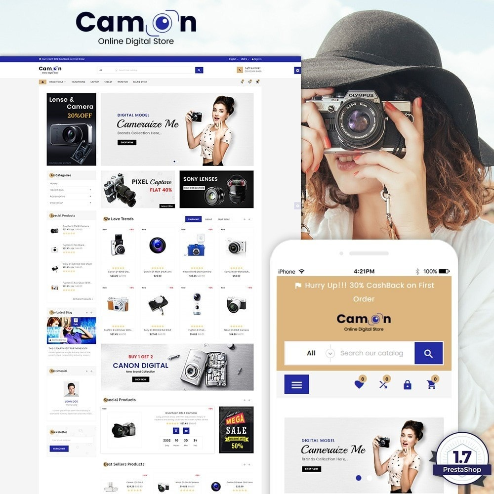 Camon - Electronices Super Store v3
