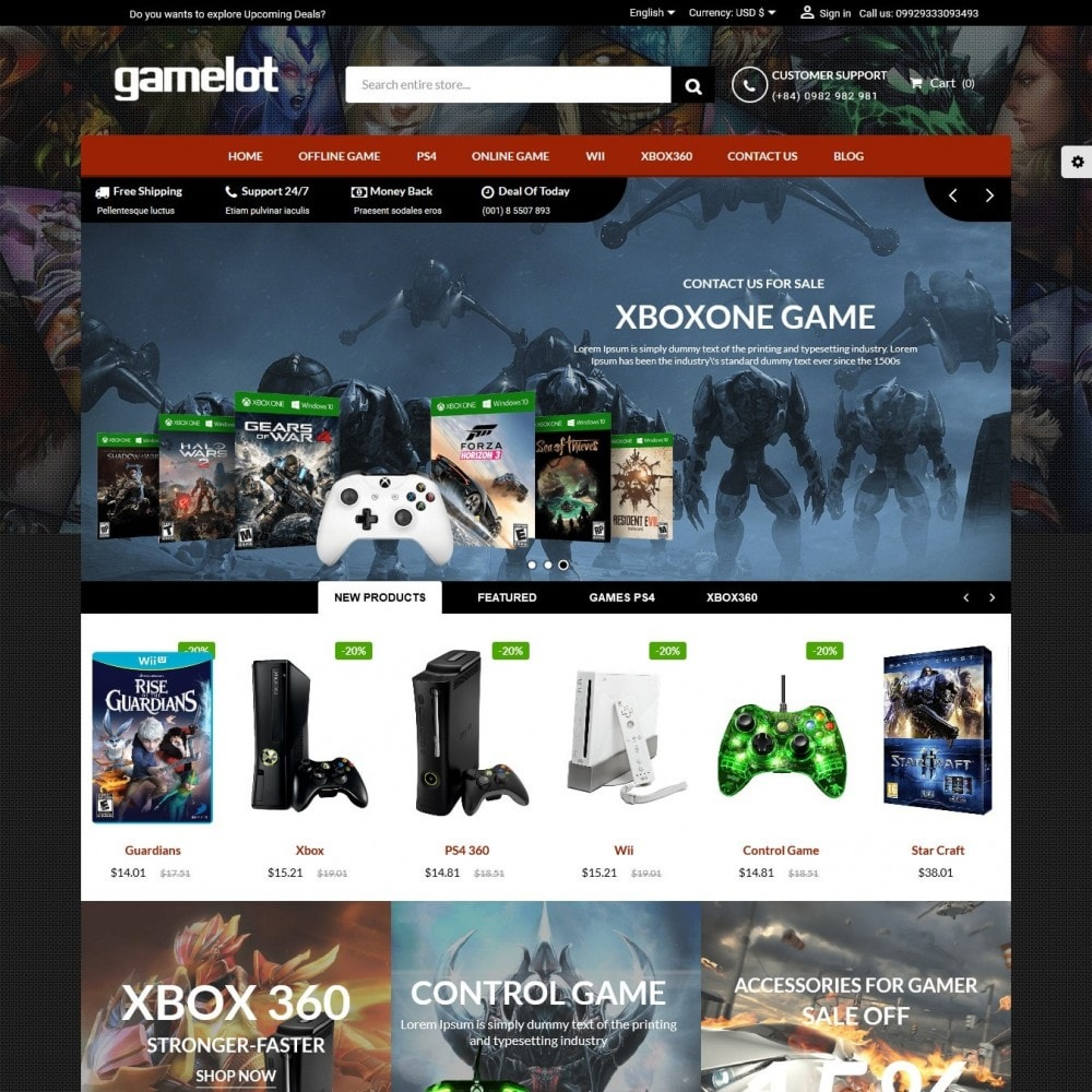 Games and Movies Store