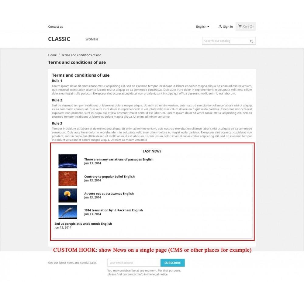 module - Blog, Forum & News - News - 5