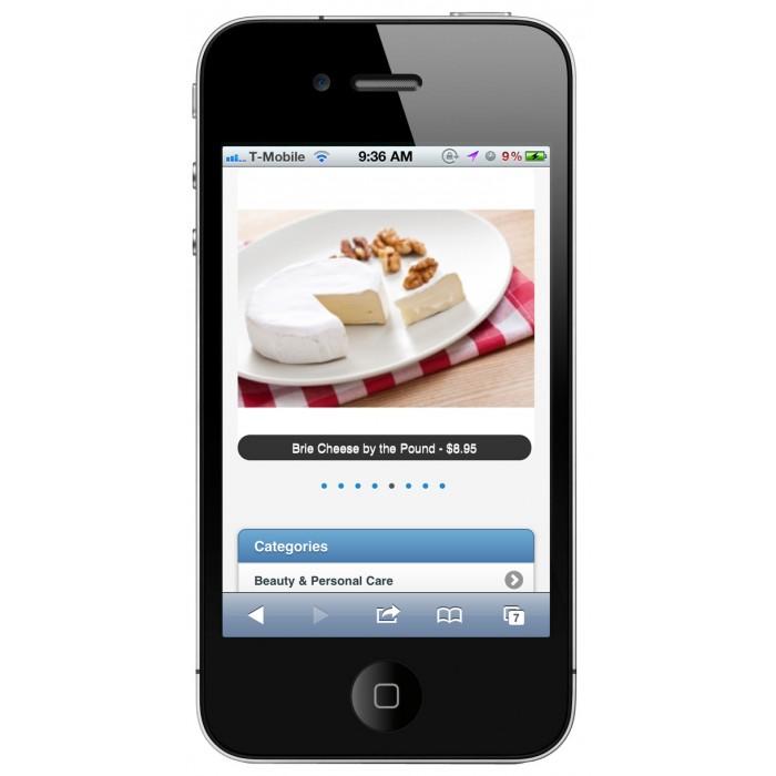 module - Mobile - PrestaShop Mobile Template - 4