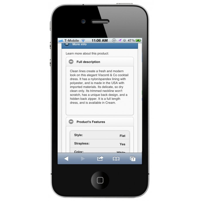 module - Dispositivos móviles - PrestaShop Mobile Tema 1.4 - 6