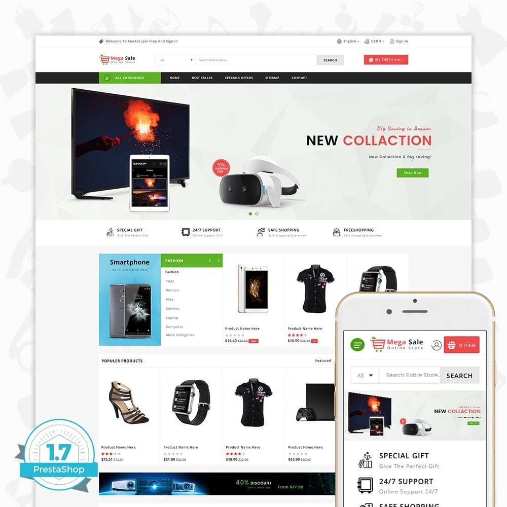MegaSale - The Online Store