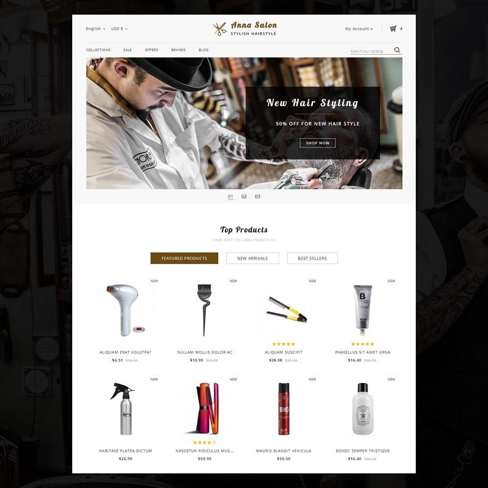 theme - Здоровье и красота - Anna Salon Store - 2